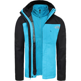 The North Face Quest Triclimate Chaqueta Hombre, acoustic blue/tnf black